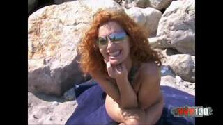 Ann Lorca Terry Beach Video