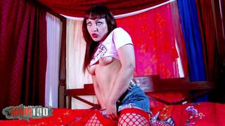 Pretty MILF gets fucked in the wood Video