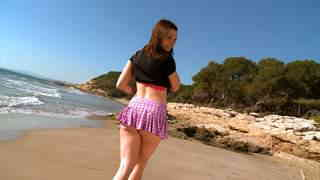 Melyne Leona being fucked at the beach! Video