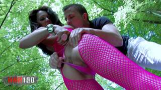 Bigtits brunette is smashed in and squirt in the river Video